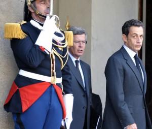 Jean-David Levitte et Nicolas Sarkozy