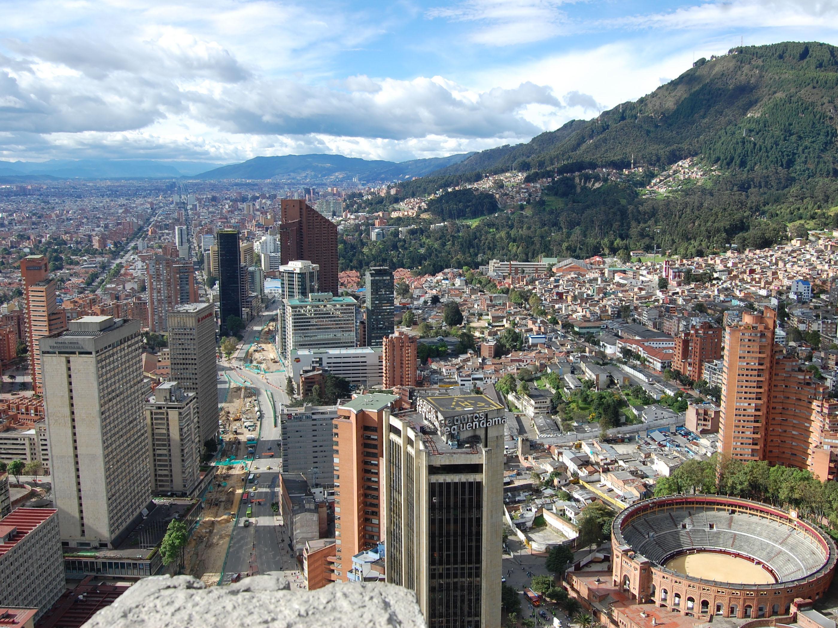 bogota capitale de colombie