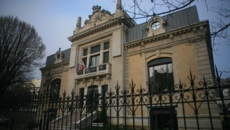 Le campus de Sciences Po à Dijon.