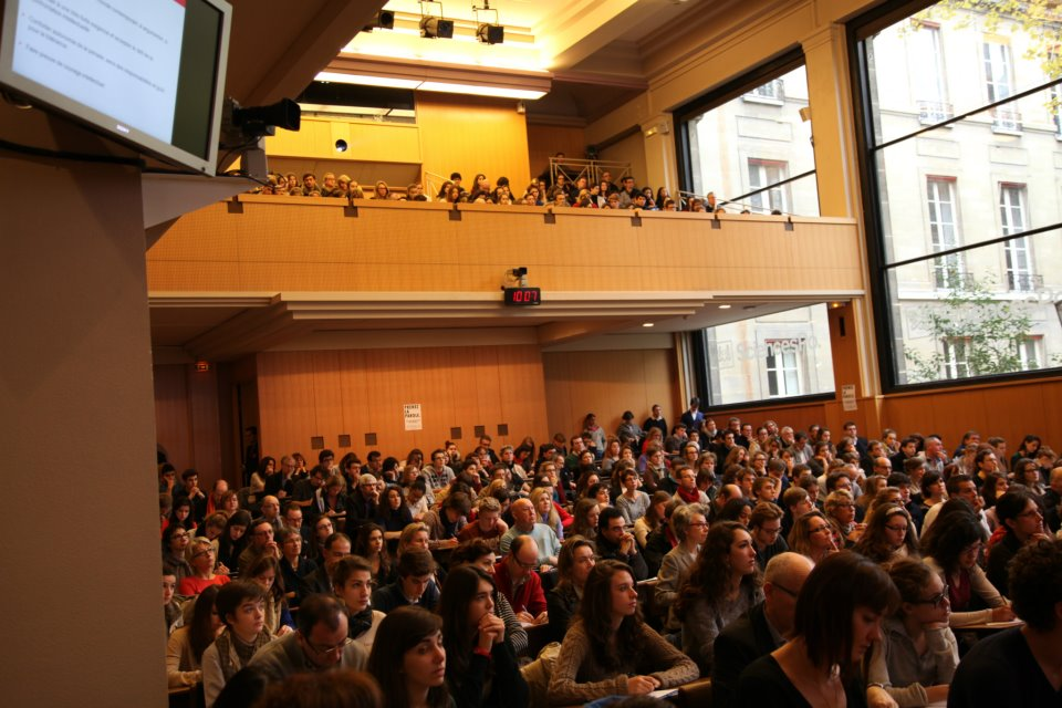 Pour avoir le privilège de s'asseoir en Boutmy, beaucoup d'étudiants de Sciences Po ont du passer par le concours d'entrée.