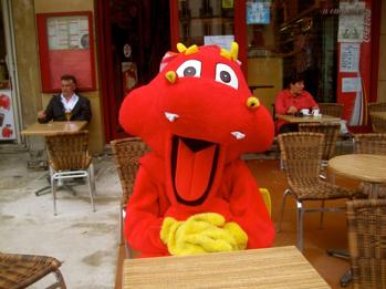 Mushu, la mascotte emblématique.