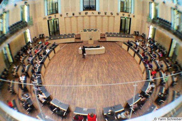 Le Bundestag allemand.