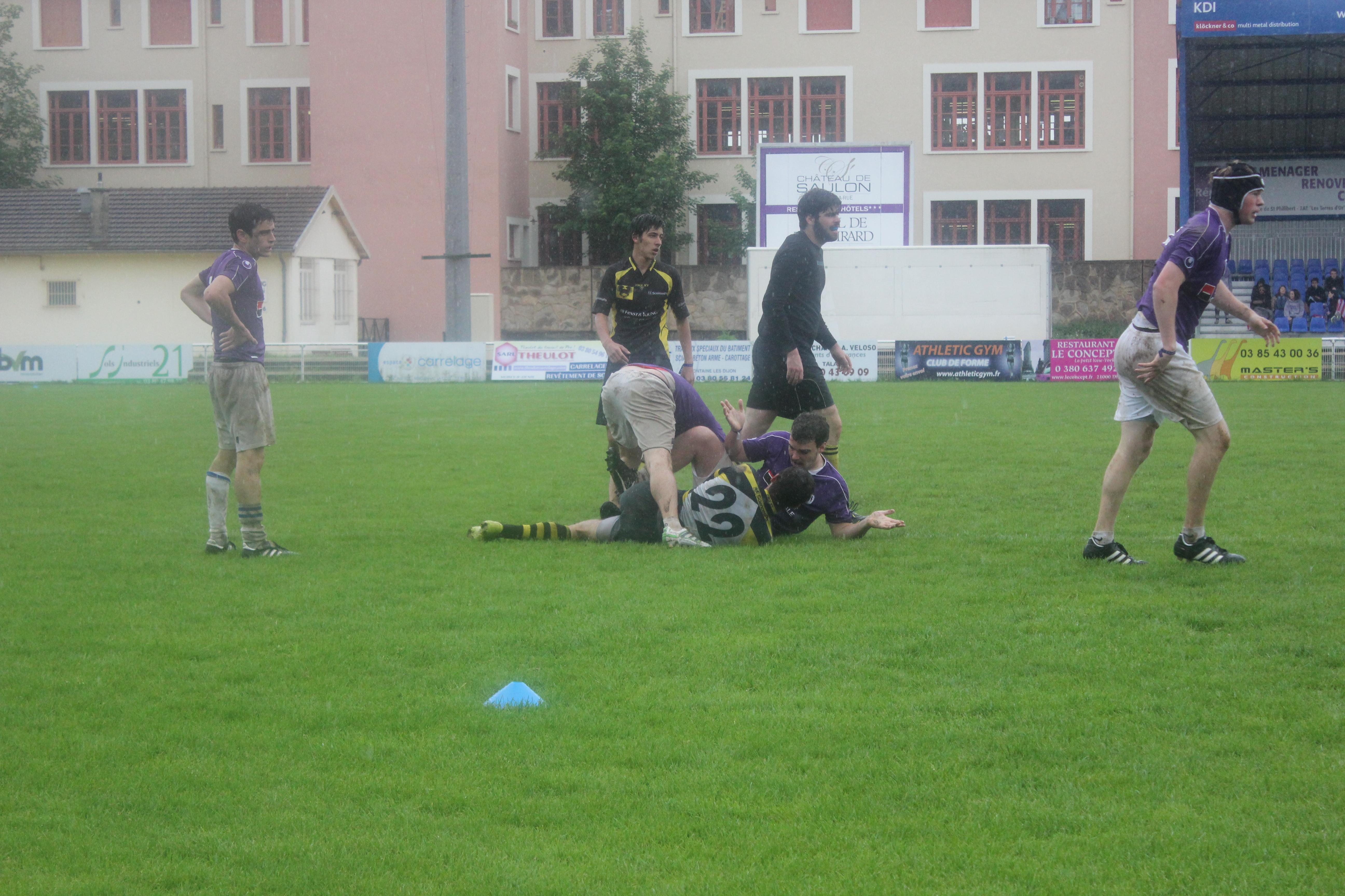 Les rugbymen veulent prendre leur revanche!
