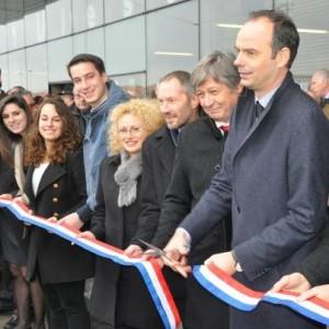 Inauguration esplanade Richard Descoings