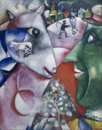 Le talent de Chagall à l'état pur.