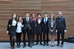 L'équipe Sciences Po Meetings 2013.