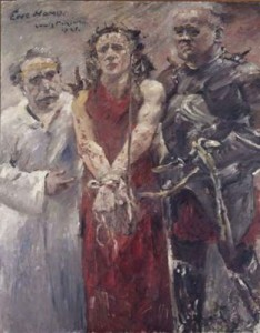 Lovis Corinth, Ecce Homo, 1925, huile sur toile. Bâle, Kunstmuseum  © Kunstmuseum Basel / Martin Bühler