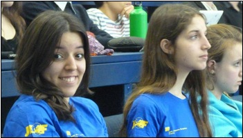 Des membres des Jeunes Européens du Havre, lors de la conférence.