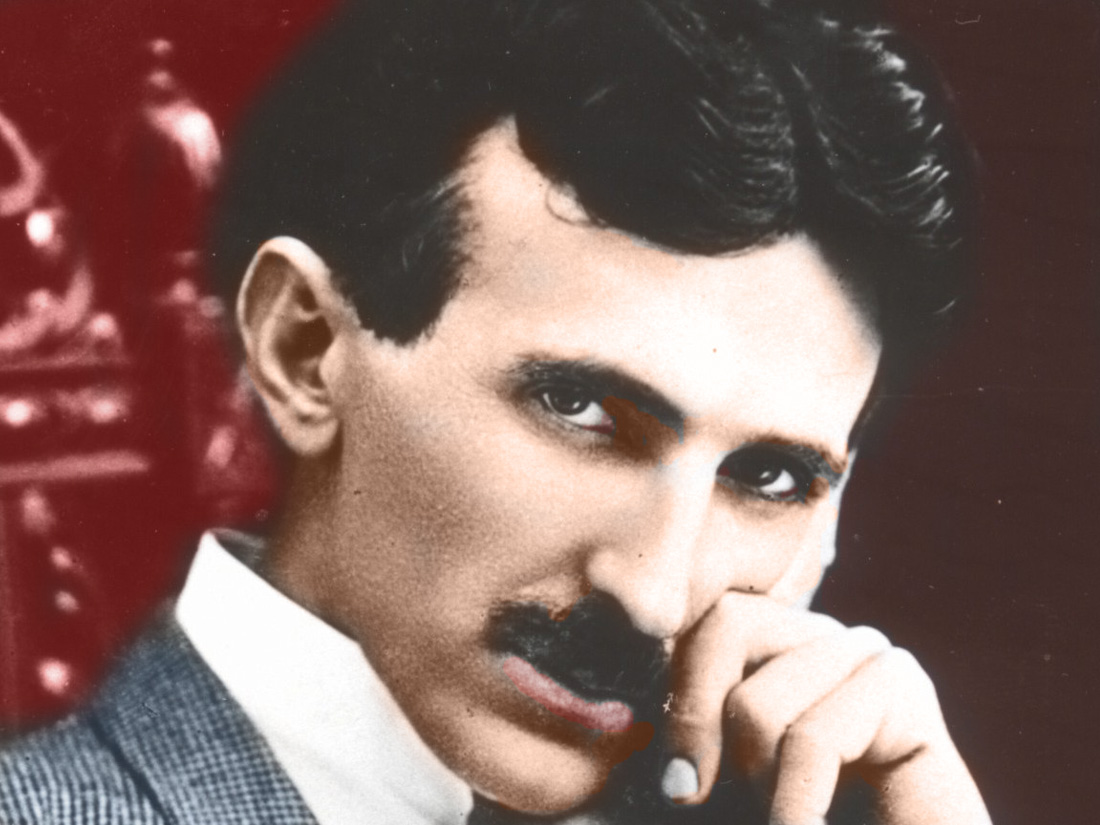 L'inventeur Nikola Tesla. 