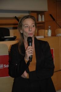 Nadia Marik à l'occasion du Conseil d'administration de la FNEP, le 14 novembre 2012. Source : fnep.org