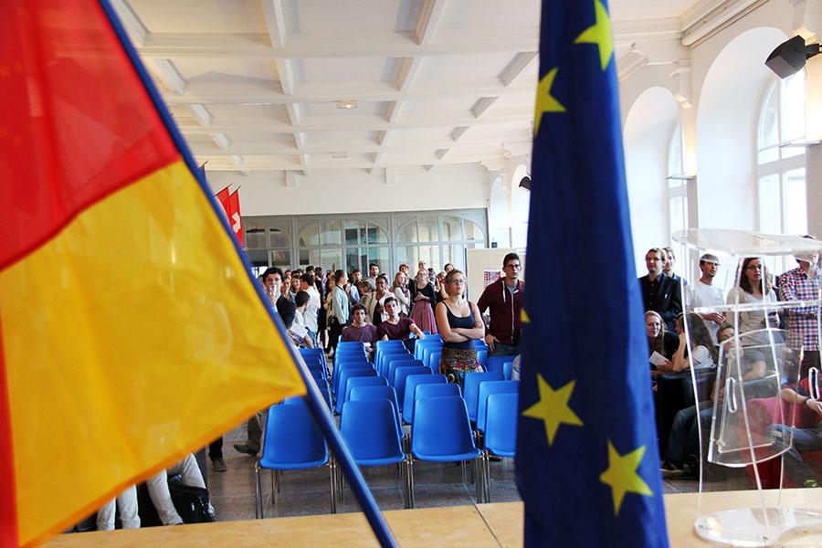 L'Allemagne, l'Europe - un unique destin ? / crédit photo : Sciences Pho