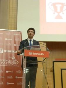 Raphaël Charpentier, président de Sciences Polémiques.