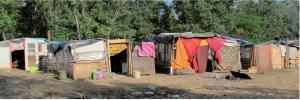 Camp de Roms dans le Nord Pas-de-Calais. crédit photo : Amnesty International 2013