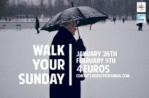 Walk your Sunday, l'un des événements organisés par le BDE pour accueillir les étudiants étrangers.