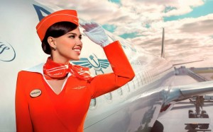 Aeroflot-Air-Hostess