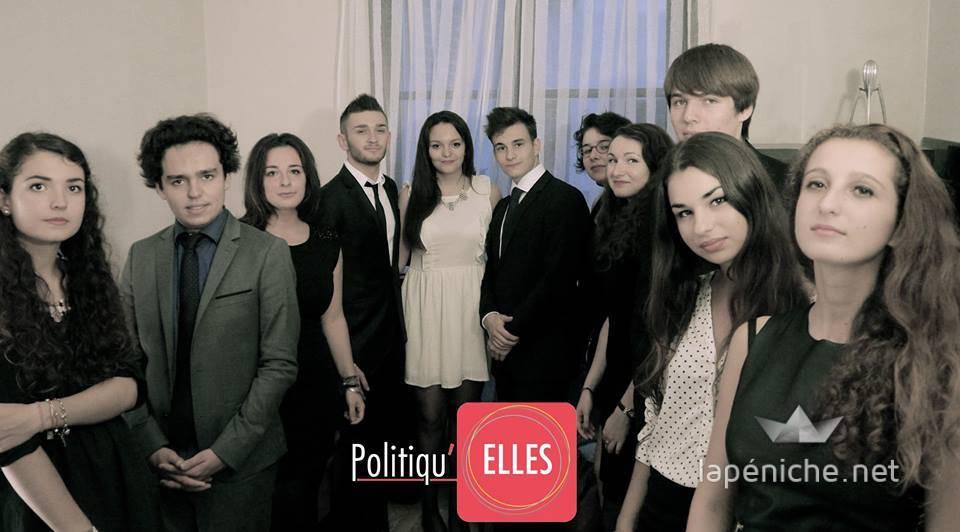 L'équipe de Politiqu'elles pour l'année 2014-2015