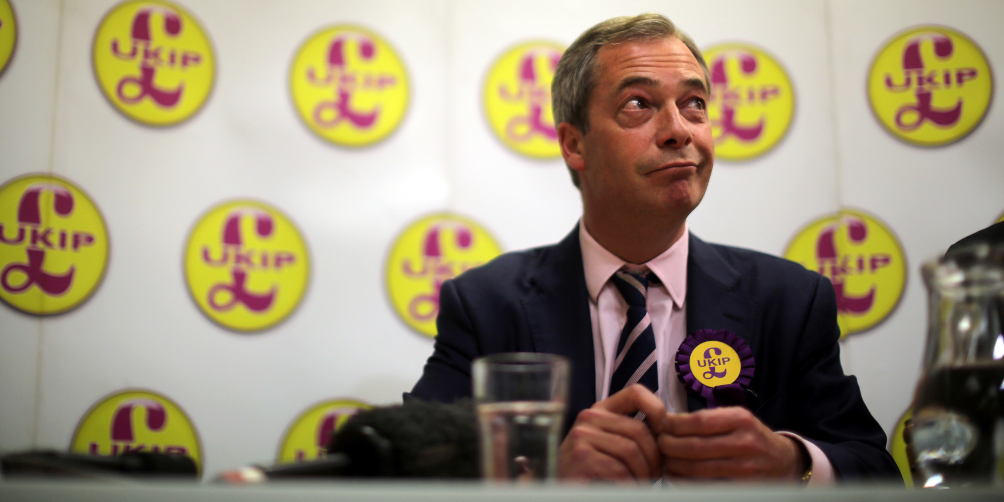 Nigel Farage, le leader d'UKIP