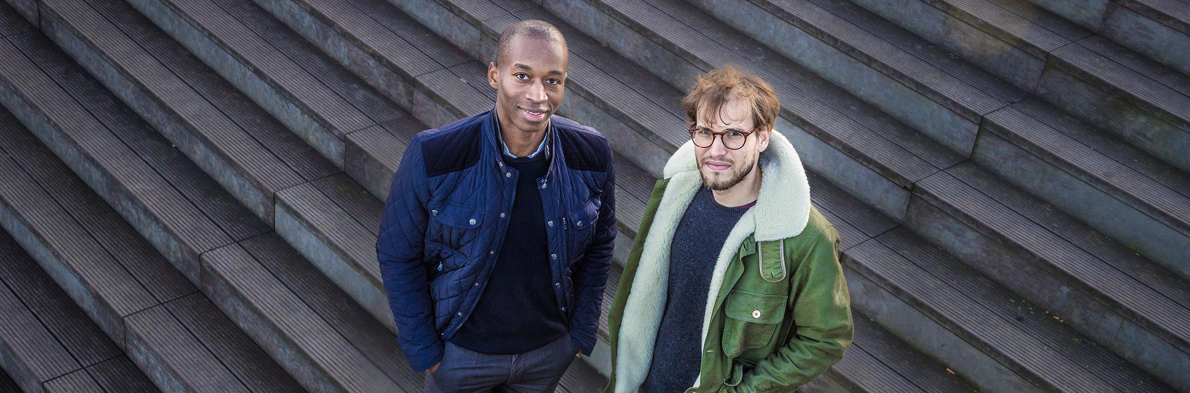 Cyril Courson et Julien Peres