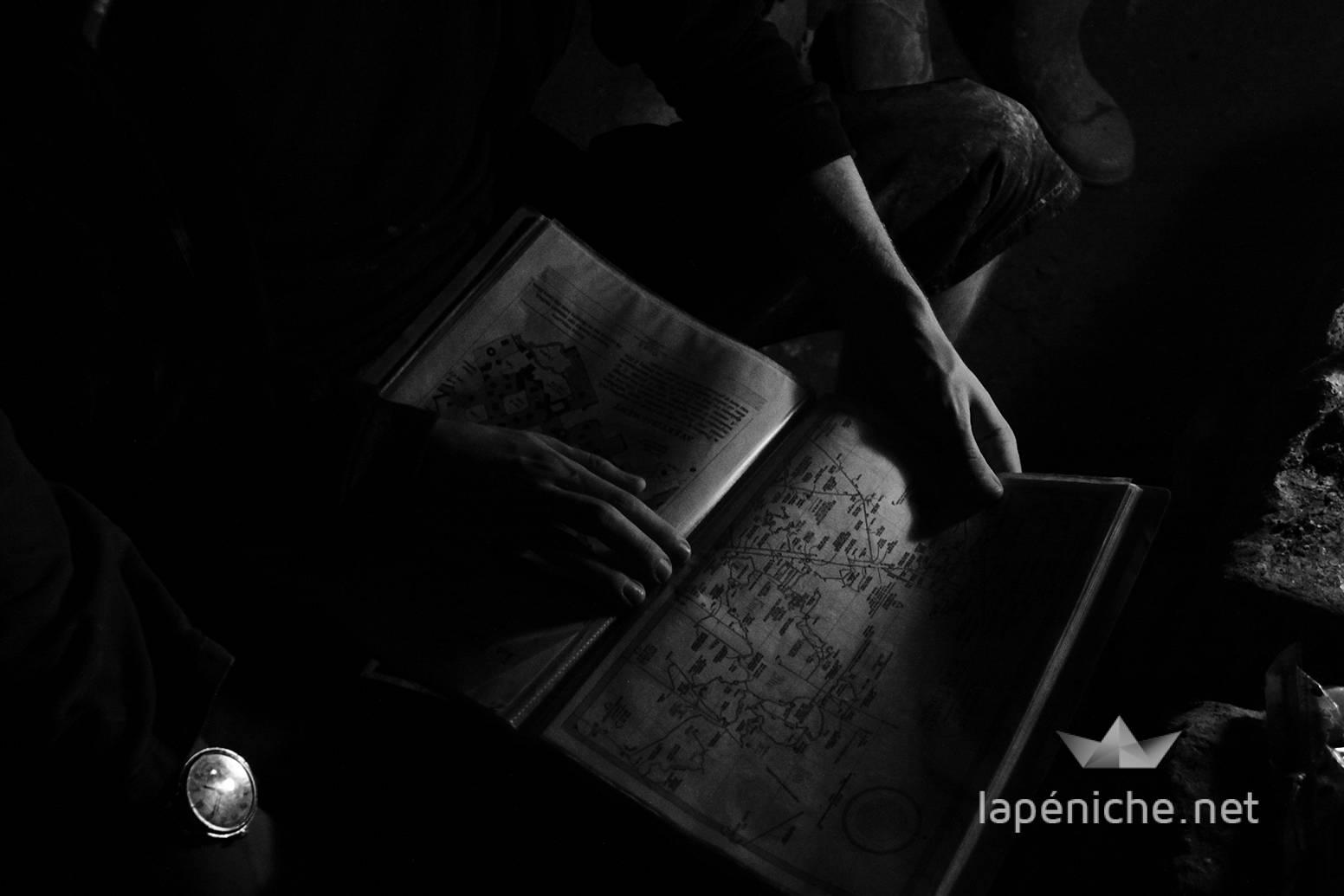 Pour se repérer dans les catacombes, un plan est vivement conseillé