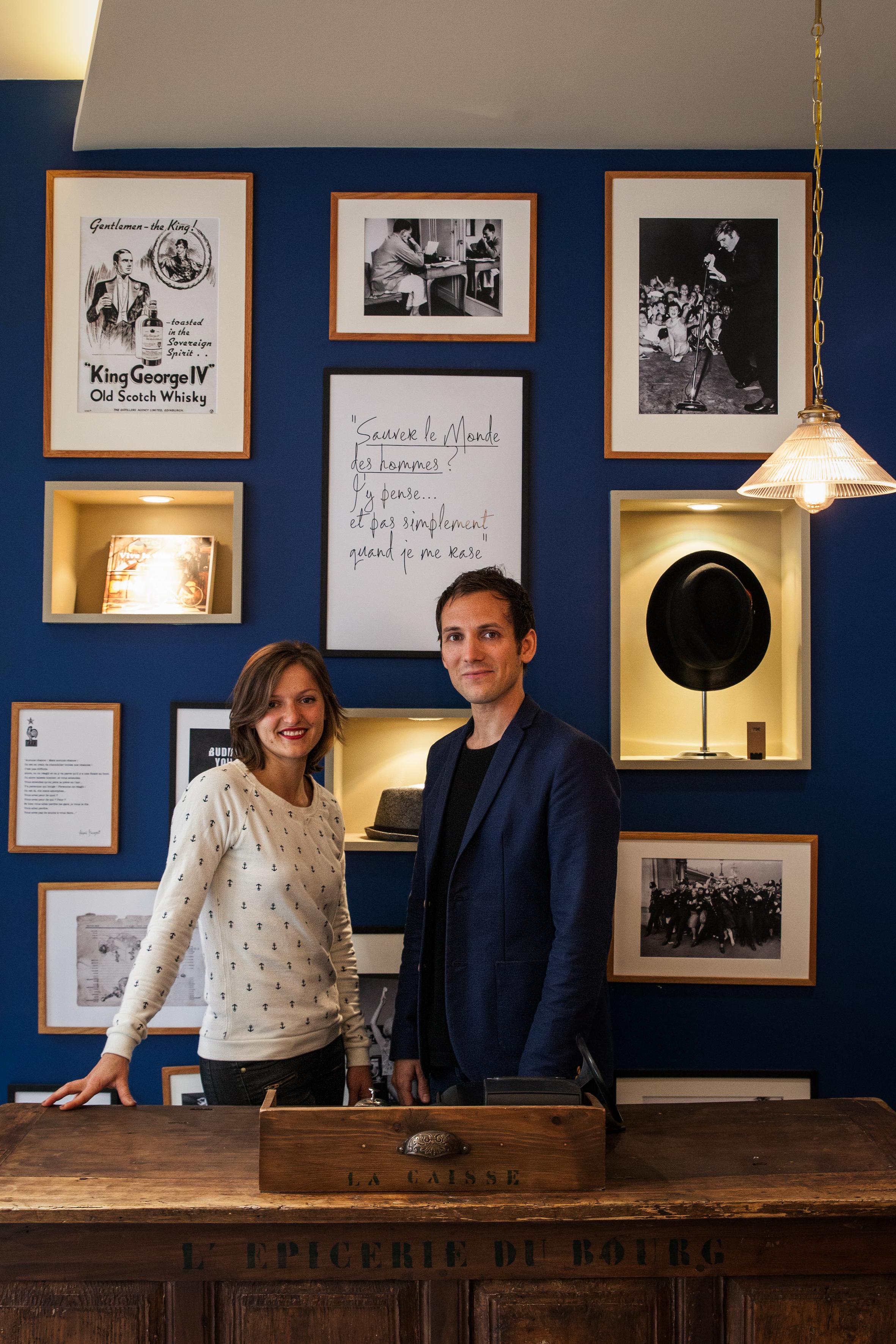 Pierre Moreau et Alexandra Mulliez fondateurs de Sauver le monde des hommes