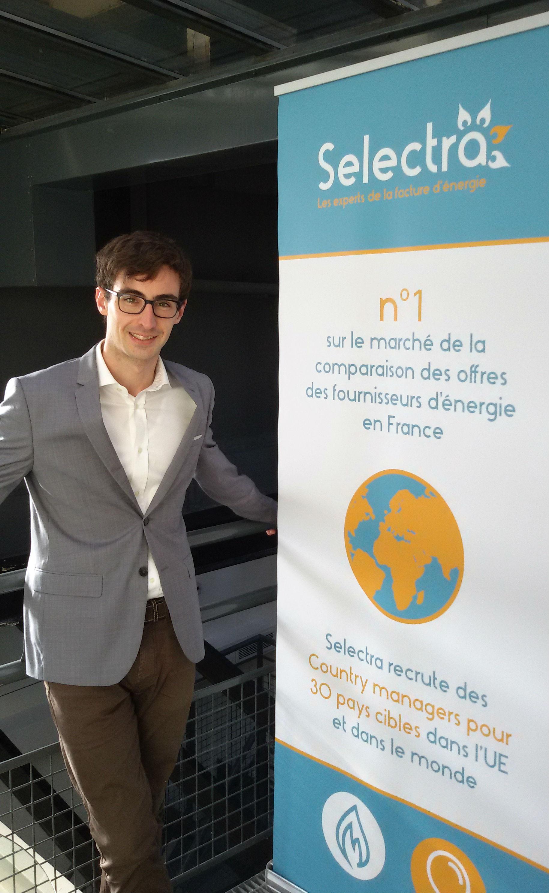 Xavier Pinon cofondateur de Selectra avec Aurian de Maupou (1)
