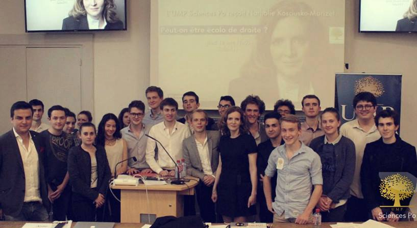 L'UMP Sciences Po aux côtés de Nathalie Kosciusko-Morizet pour une des conférences marquantes de l'année.