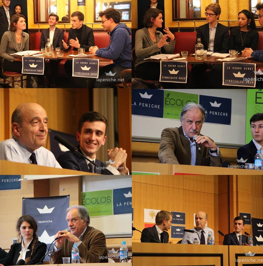 Débat des syndicales, Noël Mamère, Alain Juppé : au second semestre, nous nous sommes positionnés comme le premier média organisateur de conférences politiques.