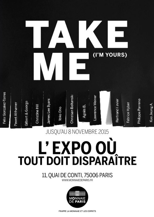 affiche-Take-Me-I-m-Yours