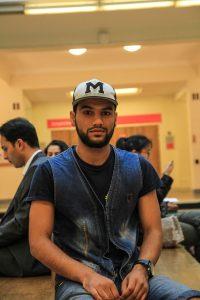 S'il a quitté SciencesPo au printemps dernier, Sohrab manifeste son souhait de revenir ici. Photgraphie: Ulysse Bellier