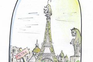 Un dessin d'Albane Miressou-Got
