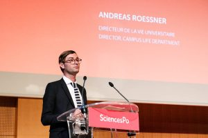 Andreas Roessner, directeur de la vie universitaire. Photo: Yann Schreiber
