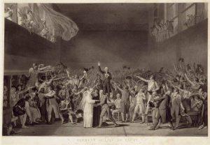 Débats houleux au sein de la promo 1789.