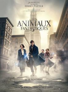 """Affiche du film """"les Animaux Fantastiques"""""""